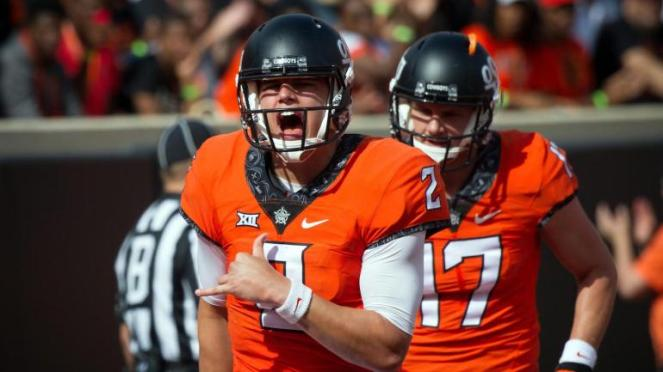 NCAA Football: West Virginia at Oklahoma State